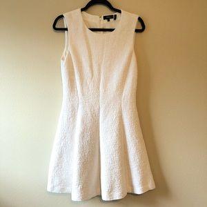 Theory Albita Madison Tweed Ivory Dress—10